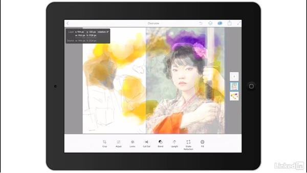 Rough assembly with Photoshop Mix: Creating a Photo Composite Illustration with Adobe Apps