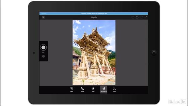 Quick edits with Photshop Fix: Liquify: Creating a Photo Composite Illustration with Adobe Apps