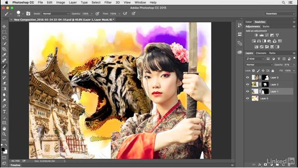 Pulling your sketch and work together: Creating a Photo Composite Illustration with Adobe Apps