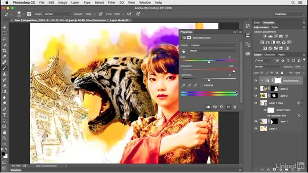 Fine-tuning color: Creating a Photo Composite Illustration with Adobe Apps