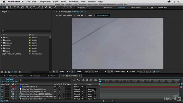 Integrating 3D renders with After Effects: After Effects Breakdowns - N-Trig Commercial