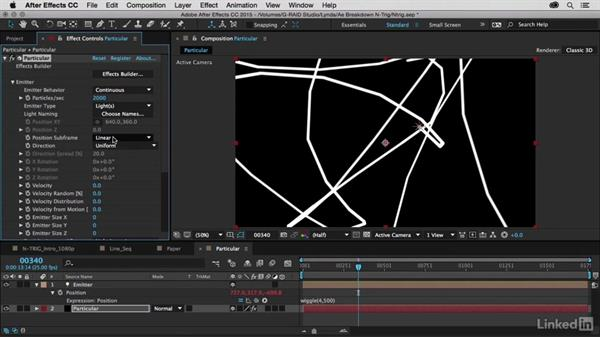 Intro to Particular: After Effects Breakdowns - N-Trig Commercial