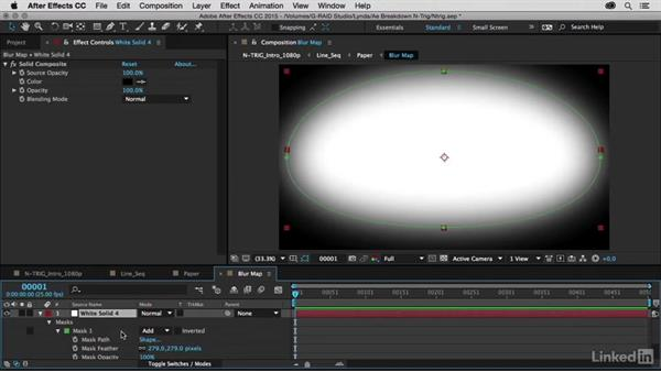 Walk-through of the final scene: After Effects Breakdowns - N-Trig Commercial