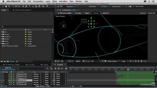 HUDs and Scribble additions: After Effects Breakdowns - N-Trig Commercial