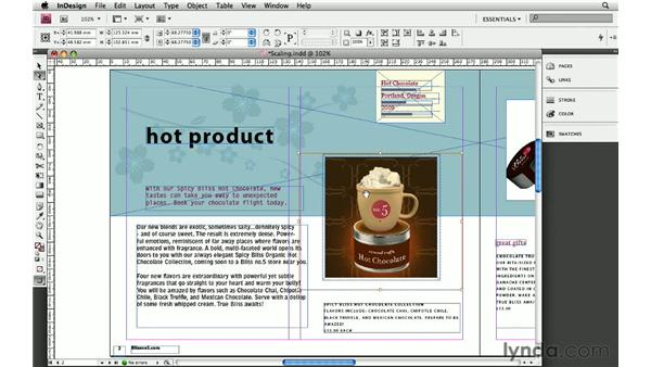 9. Scaling objects: InDesign: 10 Essential Tips