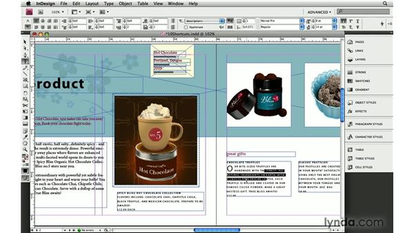 10. Ten quick shortcuts everyone should know: InDesign: 10 Essential Tips