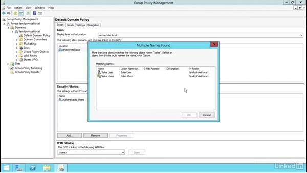 Welcome: Windows Server 2012 R2: Manage Group Policy