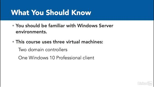 What you should know before watching this course: Windows Server 2012 R2: Manage Group Policy