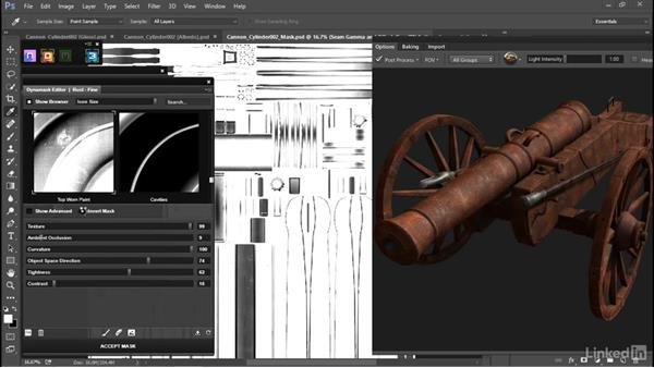 Add dust and rust to the entire model: PBR Materials with Blender & Quixel