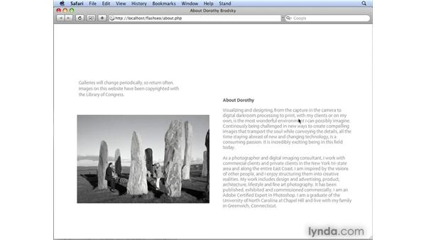 Understanding the effectiveness of dynamic data: Flash CS4 Professional: Building Search Engine Friendly Sites