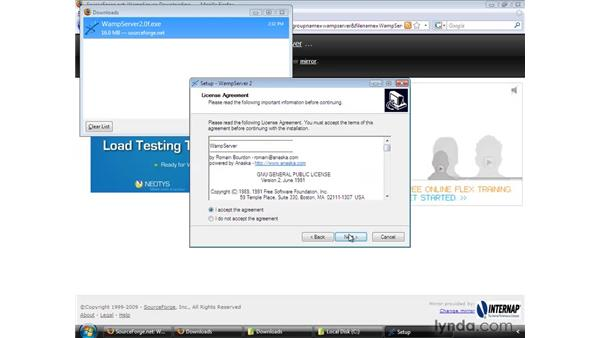 Setting up a testing server (Windows): Flash CS4 Professional: Building Search Engine Friendly Sites