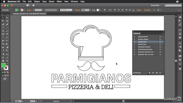 Getting started with Illustrator: Introduction to Graphic Design