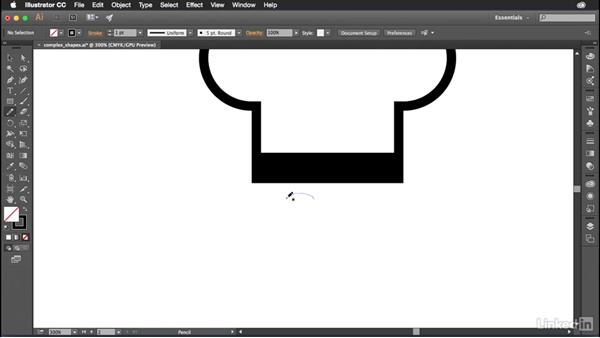Drawing complex shapes: Introduction to Graphic Design