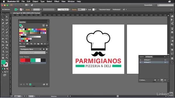 Adding color to your artwork: Introduction to Graphic Design