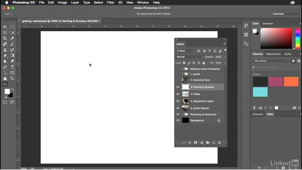Getting started with Photoshop: Introduction to Graphic Design