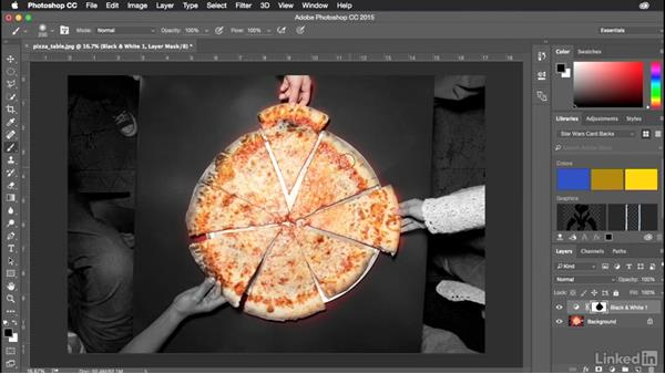 Converting images to black and white: Introduction to Graphic Design