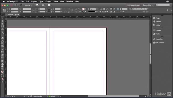 Getting started with InDesign: Introduction to Graphic Design