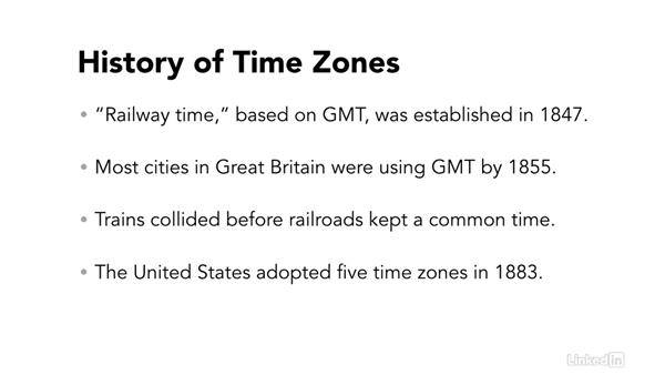 History: Easy PHP Projects: Time Zone Conversion