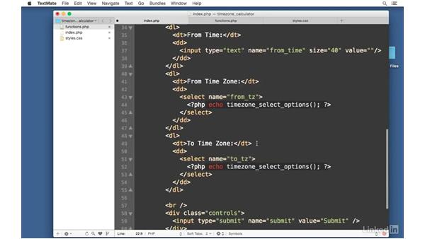 Convert the time zone: Easy PHP Projects: Time Zone Conversion