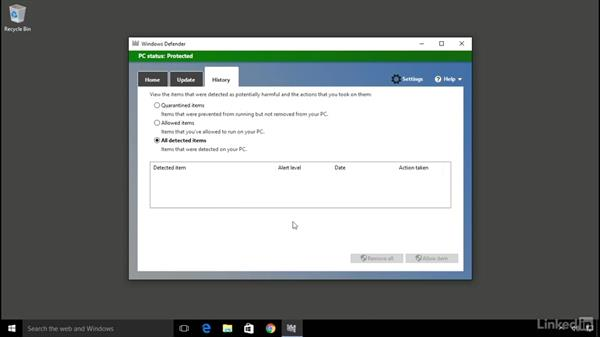 Stay protected from viruses: Computer Literacy for Windows 10