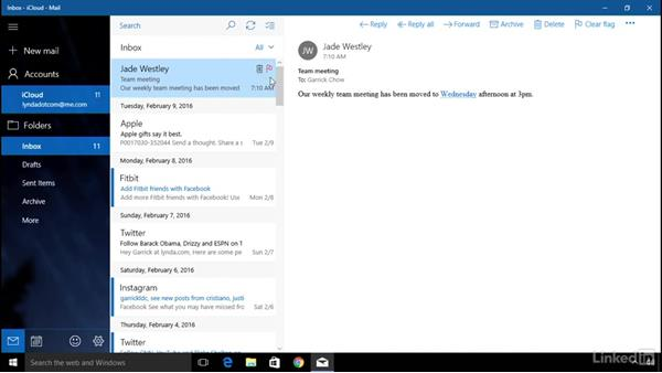 Receive and read email: Computer Literacy for Windows 10