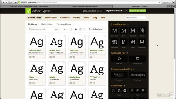 Finding new typefaces for your projects: Introduction to Graphic Design