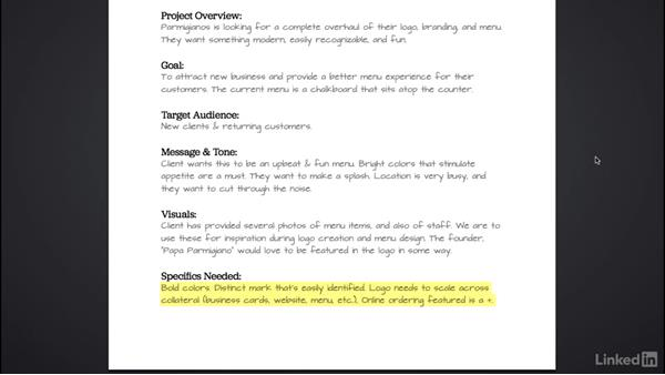 Challenge: Planning your project: Introduction to Graphic Design