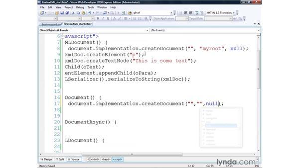 Using XML in Firefox: Real-World XML