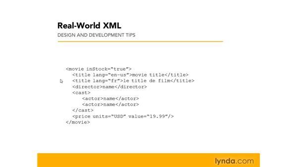 Planning design and development: Real-World XML