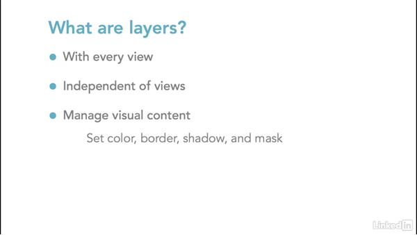 Layers: iOS UI Development with Visual Tools