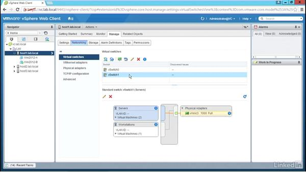 Configure traffic shaping: Configure and Manage VMware vSphere 6 Networking