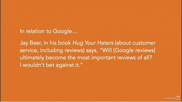 Overview of online review sites: Managing Online Customer Reviews