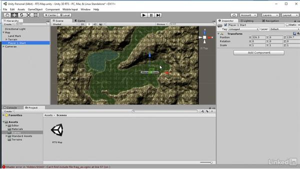 Add player positions: Unity 5: Build a Real-Time Strategy Game