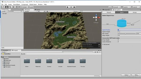 Navigation mesh: Unity 5: Build a Real-Time Strategy Game