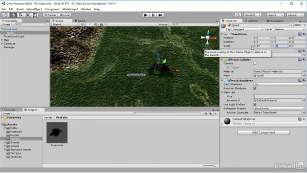 Highlighting: Unity 5: Build a Real-Time Strategy Game