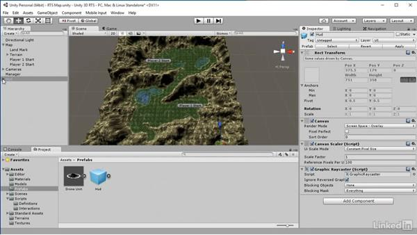 Import HUD: Unity 5: Build a Real-Time Strategy Game