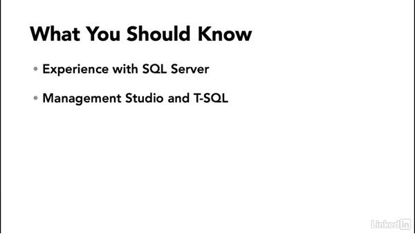 What you should know before starting: SQL Server 2014 Backup and Recovery