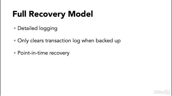 Understanding recovery models: SQL Server 2014 Backup and Recovery