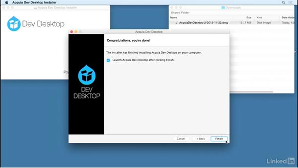 Install Acquia Dev Desktop on Mac: Drupal 8 Essentials 1: Getting Started