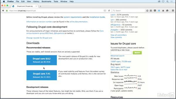 Install Drupal's files on *nix: Drupal 8 Essentials 1: Getting Started