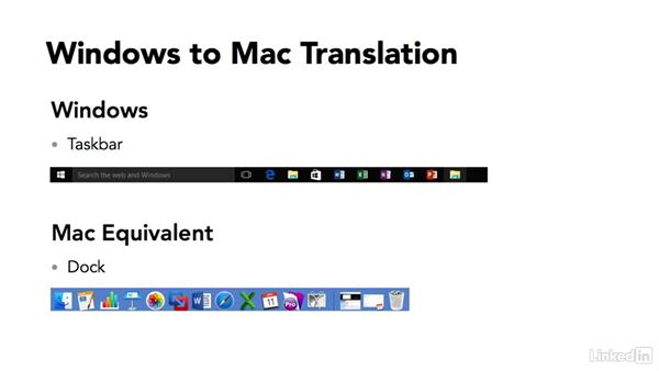 Adjusting to new Mac terminology: Switching from Windows 10 to Mac