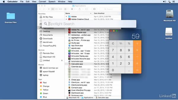 Launch and manipulate applications: Switching from Windows 10 to Mac