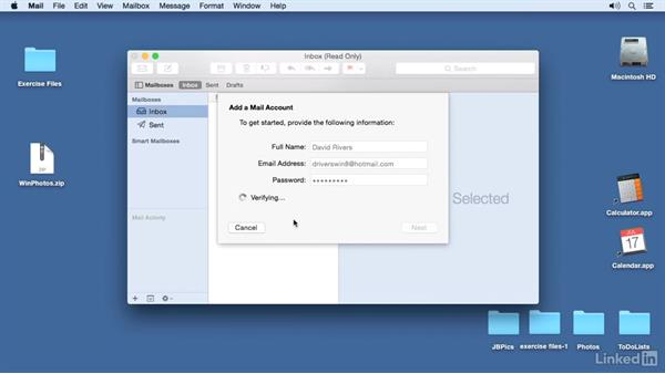 Use Mail: Switching from Windows 10 to Mac