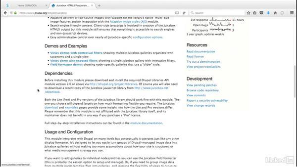 Find useful modules on Drupal.org: Drupal 8 Essentials 2: Building Out Your Website