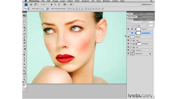 "Creating ""looks"" with color: Photoshop CS4 Retouching: Fashion Photography Projects"
