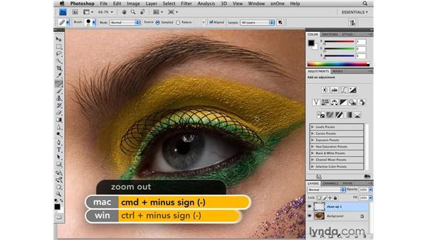 Basic cleanup: Photoshop CS4 Retouching: Fashion Photography Projects