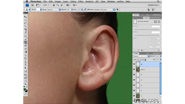 Cleaning up flyaway hairs pt. 2: Photoshop CS4 Retouching: Fashion Photography Projects