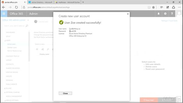 Create user accounts in Office 365: Deploying Office 365