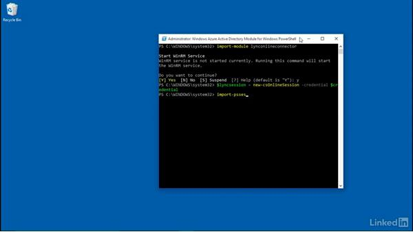 Configure PowerShell for Office 365: Deploying Office 365