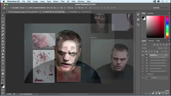 Welcome: Photoshop: Turn Yourself into a Zombie
